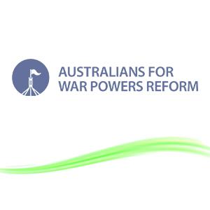 Australians for war powers reform logo