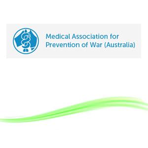 Medical Association for the Prevention of War Australia logo