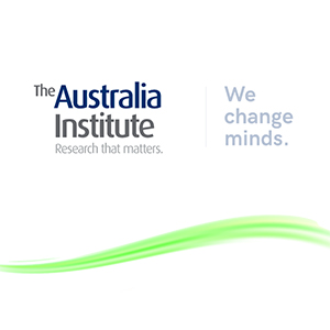 The Australia Institute. Research that matters. We change minds.