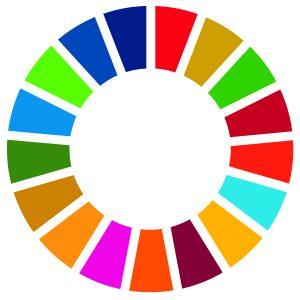 Colourful SDG Wheel