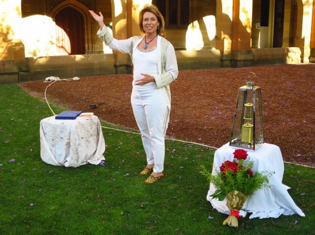 Victoria Sharp, World Peace Flame Global Ambassador